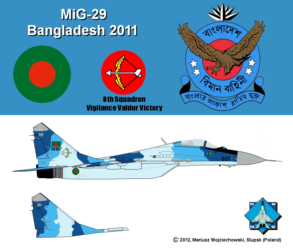 Bangladesh Air Force Mig 29